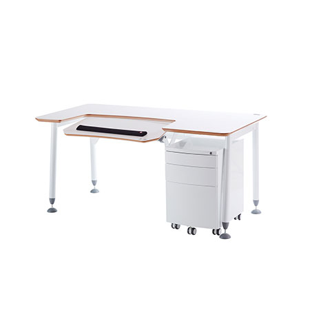 Adjustable Height Computer Desk - N3-160 Home Office Workstation